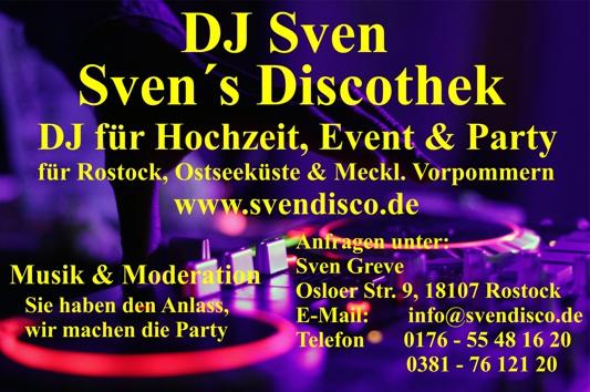 Logo DJ Sven - Svens Discothek